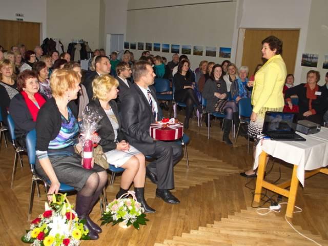 Brocēnu novada pašvaldības pārstāvju pieredzes apmaiņas vizīte Skrundas novadā
