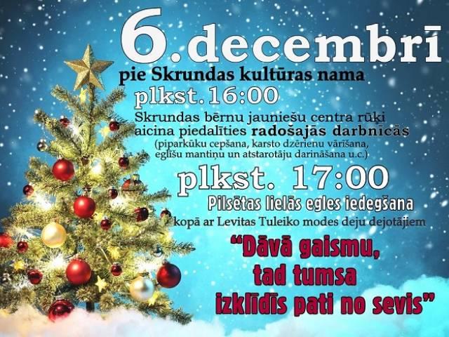Gatavojamies svētkiem un aicinām pieteikties Ziemassvētku tirdziņiem