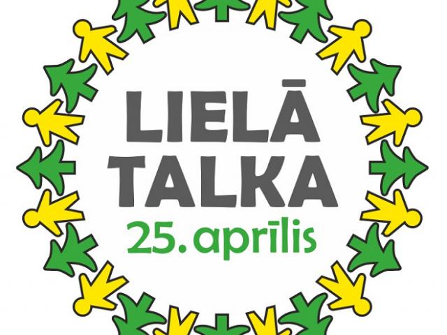 Lielā Talka – 25. aprīlī