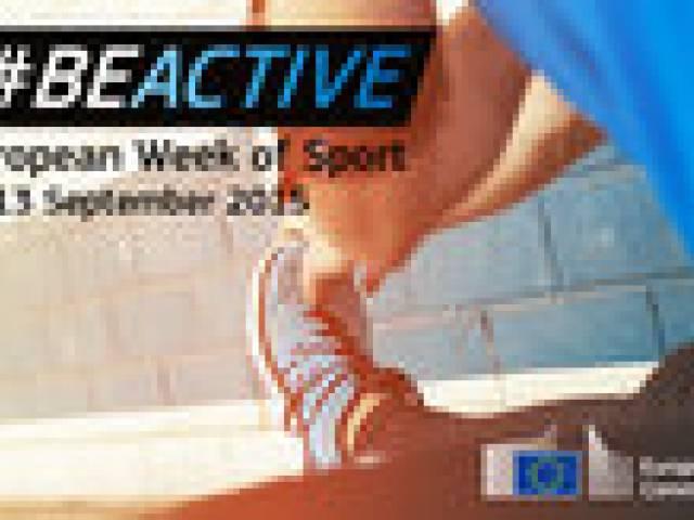 Aicina piedalīties Eiropas Sporta nedēļā 2015