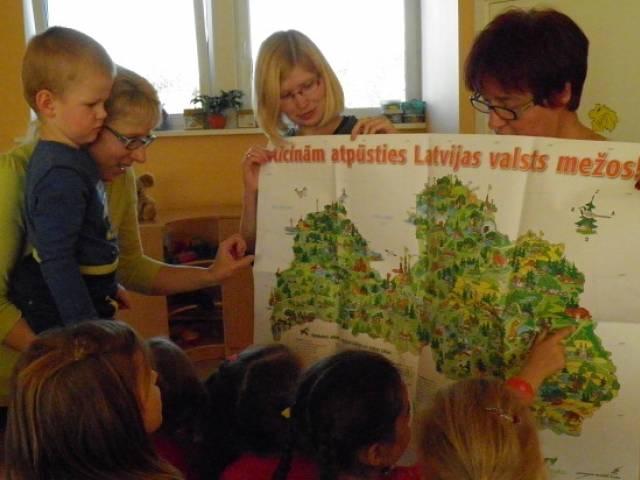 Nīkrāces pirmsskolas grupas iesaistās ekoprogrammā