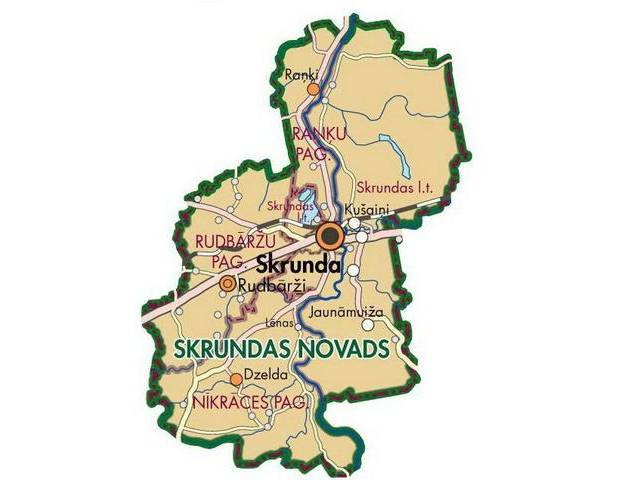 Skrundas novada pašvaldības plānoto notikumu kalendārs no 8. līdz 14. augustam