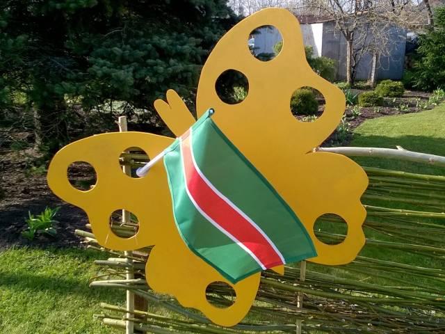 Izgatavoti Skrundas novada karodziņi