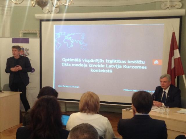 Kurzemes reģiona pašvaldību vadītāji tiekas ar Kārli Šadurski