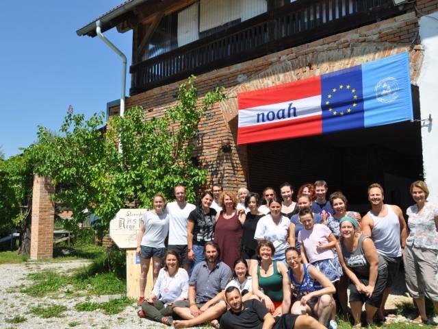 Latvijas jaunatnes jomas speciālisti gūst sociālās iekļaušanas pieredzi Austrijā