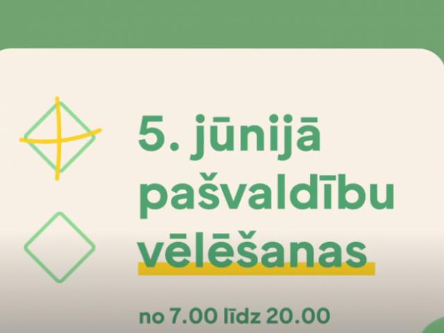 Skrundas pagasta iedzīvotāju ievērībai - 5. jūnijā kursēs autobuss uz Skrundas vēlēšanu iecirkni